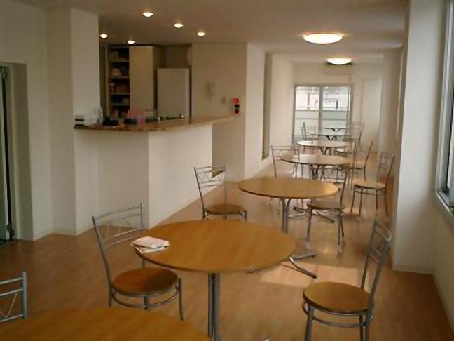 3F西側のカフェ